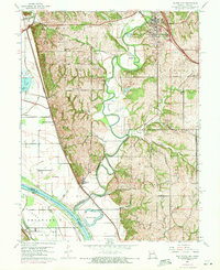 Download a high-resolution, GPS-compatible USGS topo map for Platte City, MO (1971 edition)
