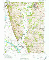 Download a high-resolution, GPS-compatible USGS topo map for Platte City, MO (1977 edition)