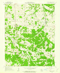 Download a high-resolution, GPS-compatible USGS topo map for Pleasant Hope, MO (1962 edition)