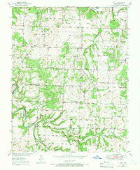 Download a high-resolution, GPS-compatible USGS topo map for Polk, MO (1966 edition)