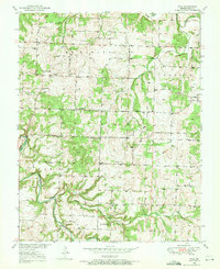 Download a high-resolution, GPS-compatible USGS topo map for Polk, MO (1971 edition)