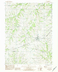 Download a high-resolution, GPS-compatible USGS topo map for Polo, MO (1984 edition)