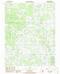 Download a high-resolution, GPS-compatible USGS topo map for Pomona, MO (1986 edition)
