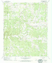 Download a high-resolution, GPS-compatible USGS topo map for Pottersville, MO (1969 edition)