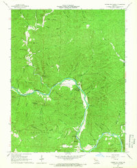 Download a high-resolution, GPS-compatible USGS topo map for Powder Mill Ferry, MO (1966 edition)