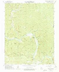 Download a high-resolution, GPS-compatible USGS topo map for Powder Mill Ferry, MO (1975 edition)