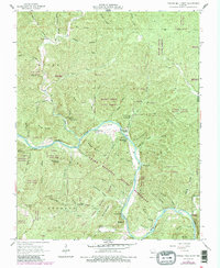 Download a high-resolution, GPS-compatible USGS topo map for Powder Mill Ferry, MO (1985 edition)