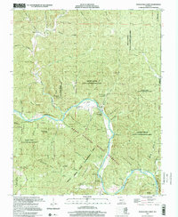 Download a high-resolution, GPS-compatible USGS topo map for Powder Mill Ferry, MO (2001 edition)