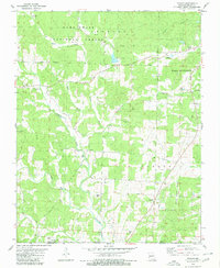 Download a high-resolution, GPS-compatible USGS topo map for Poynor, MO (1980 edition)
