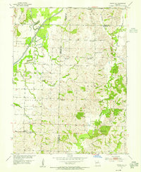 Download a high-resolution, GPS-compatible USGS topo map for Prairie Hill, MO (1955 edition)