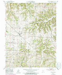 Download a high-resolution, GPS-compatible USGS topo map for Prairie Home, MO (1986 edition)