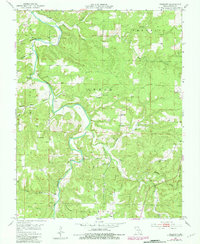 Download a high-resolution, GPS-compatible USGS topo map for Prescott, MO (1981 edition)