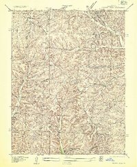 Download a high-resolution, GPS-compatible USGS topo map for Proctor Creek, MO (1935 edition)