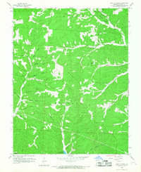 Download a high-resolution, GPS-compatible USGS topo map for Proctor Creek, MO (1967 edition)