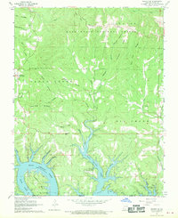 Download a high-resolution, GPS-compatible USGS topo map for Protem SW, MO (1970 edition)
