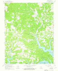Download a high-resolution, GPS-compatible USGS topo map for Protem, MO (1976 edition)