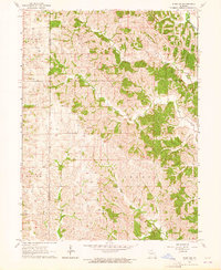Download a high-resolution, GPS-compatible USGS topo map for Pure Air, MO (1964 edition)