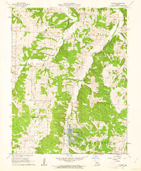 Download a high-resolution, GPS-compatible USGS topo map for Pyrmont, MO (1962 edition)