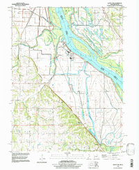 Download a high-resolution, GPS-compatible USGS topo map for Quincy SW, MO (1998 edition)