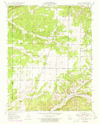 Download a high-resolution, GPS-compatible USGS topo map for Racine, MO (1979 edition)