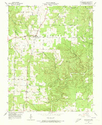 Download a high-resolution, GPS-compatible USGS topo map for Raymondville, MO (1973 edition)