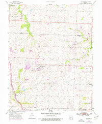 Download a high-resolution, GPS-compatible USGS topo map for Raymore, MO (1976 edition)