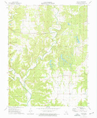 Download a high-resolution, GPS-compatible USGS topo map for Reform, MO (1977 edition)