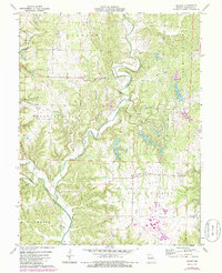 Download a high-resolution, GPS-compatible USGS topo map for Reform, MO (1986 edition)