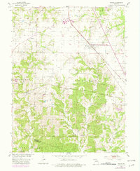 Download a high-resolution, GPS-compatible USGS topo map for Renick, MO (1979 edition)