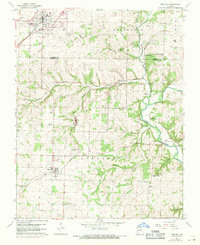 Download a high-resolution, GPS-compatible USGS topo map for Republic, MO (1971 edition)