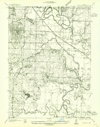 Download a high-resolution, GPS-compatible USGS topo map for Rich Hill, MO (1955 edition)