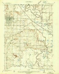 Download a high-resolution, GPS-compatible USGS topo map for Rich Hill, MO (1936 edition)