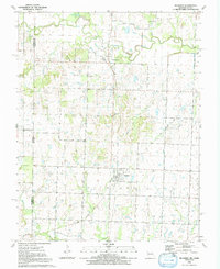 Download a high-resolution, GPS-compatible USGS topo map for Richards, MO (1991 edition)