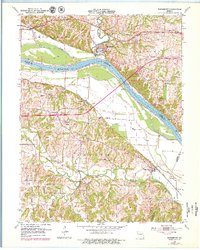 Download a high-resolution, GPS-compatible USGS topo map for Rocheport, MO (1979 edition)