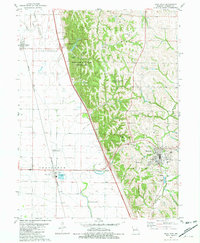 Download a high-resolution, GPS-compatible USGS topo map for Rock Port, MO (1982 edition)