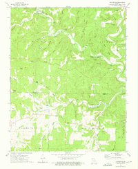 Download a high-resolution, GPS-compatible USGS topo map for Rockbridge, MO (1975 edition)