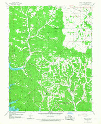 Download a high-resolution, GPS-compatible USGS topo map for Rocky Mount, MO (1968 edition)