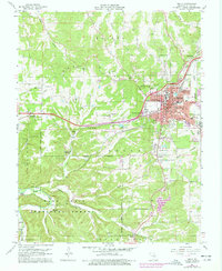 Download a high-resolution, GPS-compatible USGS topo map for Rolla, MO (1977 edition)