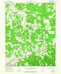 Download a high-resolution, GPS-compatible USGS topo map for Rosati, MO (1964 edition)