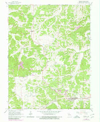 Download a high-resolution, GPS-compatible USGS topo map for Rosebud, MO (1980 edition)