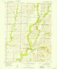 Download a high-resolution, GPS-compatible USGS topo map for Rothville, MO (1950 edition)