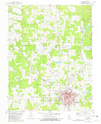 Download a high-resolution, GPS-compatible USGS topo map for Salem, MO (1982 edition)