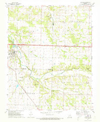 Download a high-resolution, GPS-compatible USGS topo map for Sarcoxie, MO (1973 edition)
