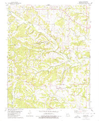 Download a high-resolution, GPS-compatible USGS topo map for Scopus, MO (1980 edition)