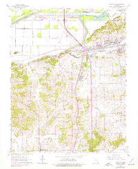 Download a high-resolution, GPS-compatible USGS topo map for Scott City, MO (1978 edition)