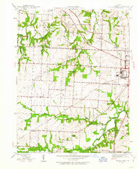 Download a high-resolution, GPS-compatible USGS topo map for Sedalia West, MO (1963 edition)