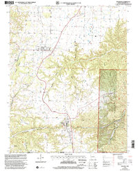 Download a high-resolution, GPS-compatible USGS topo map for Seligman, MO (2002 edition)