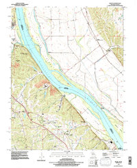 Download a high-resolution, GPS-compatible USGS topo map for Selma, MO (1996 edition)