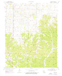 Download a high-resolution, GPS-compatible USGS topo map for Selmore, MO (1976 edition)