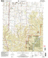 Download a high-resolution, GPS-compatible USGS topo map for Selmore, MO (2006 edition)